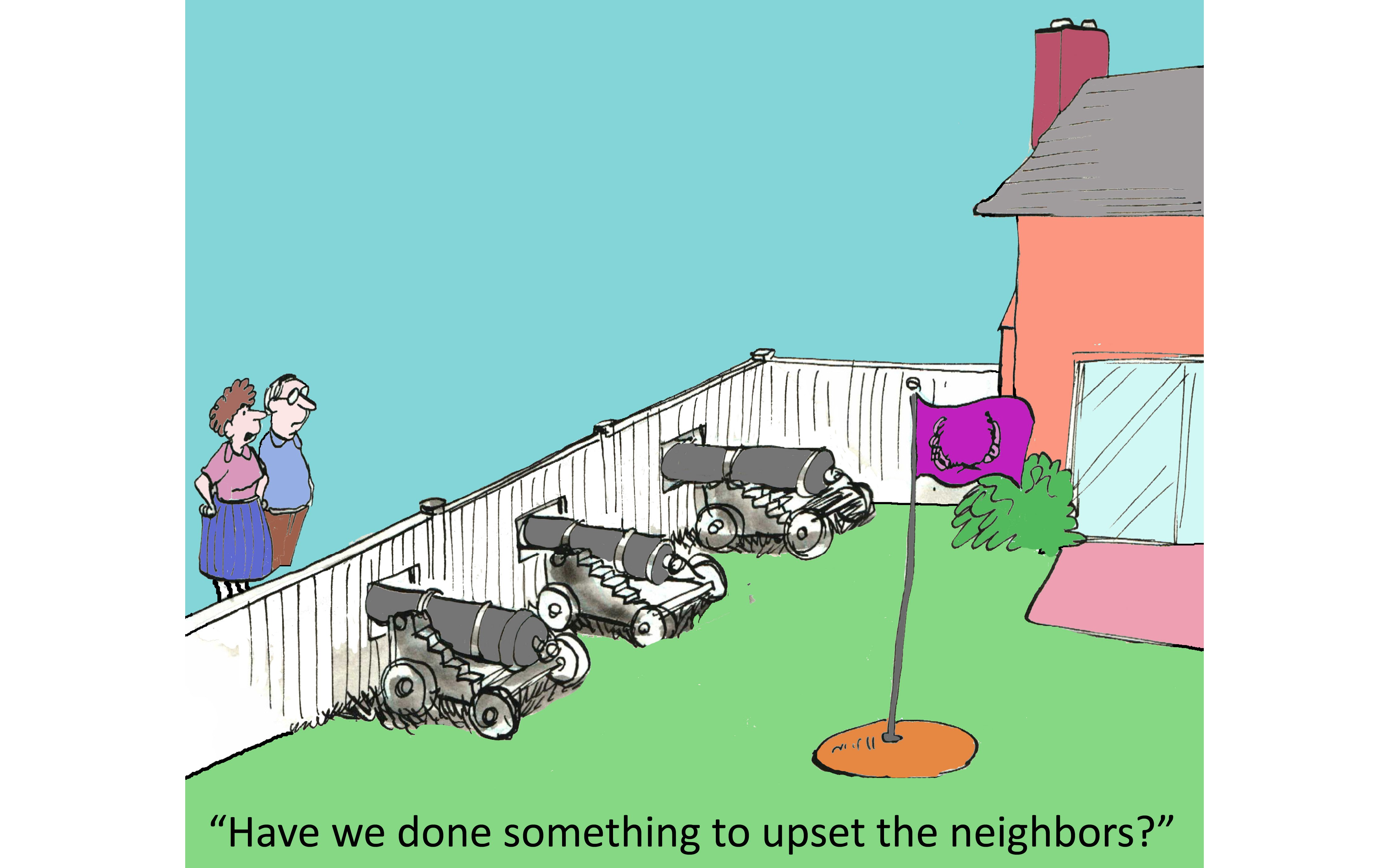 annoying neighbors