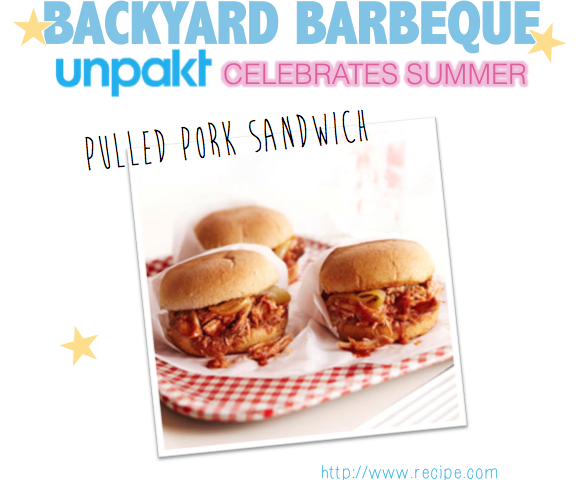 pulled pork sandwich backyard barbeque unpakt