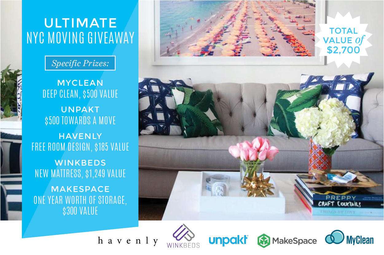Ultimate NYC Moving Giveaway