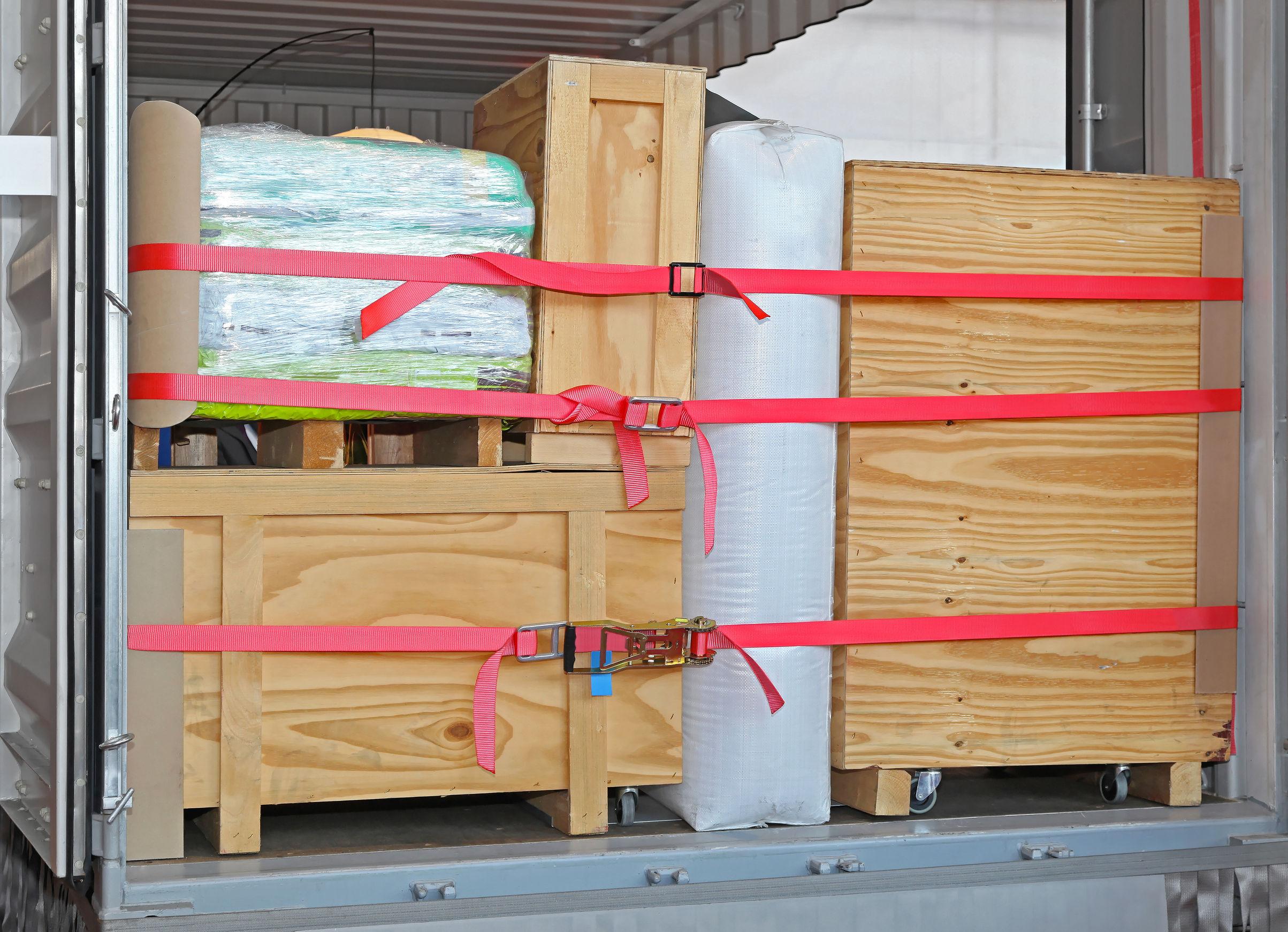 Storage in transit