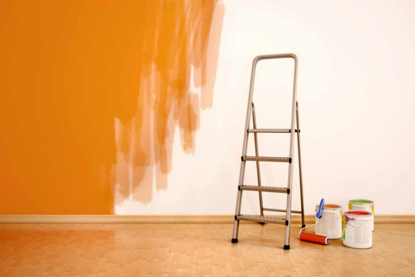 paint an interior room