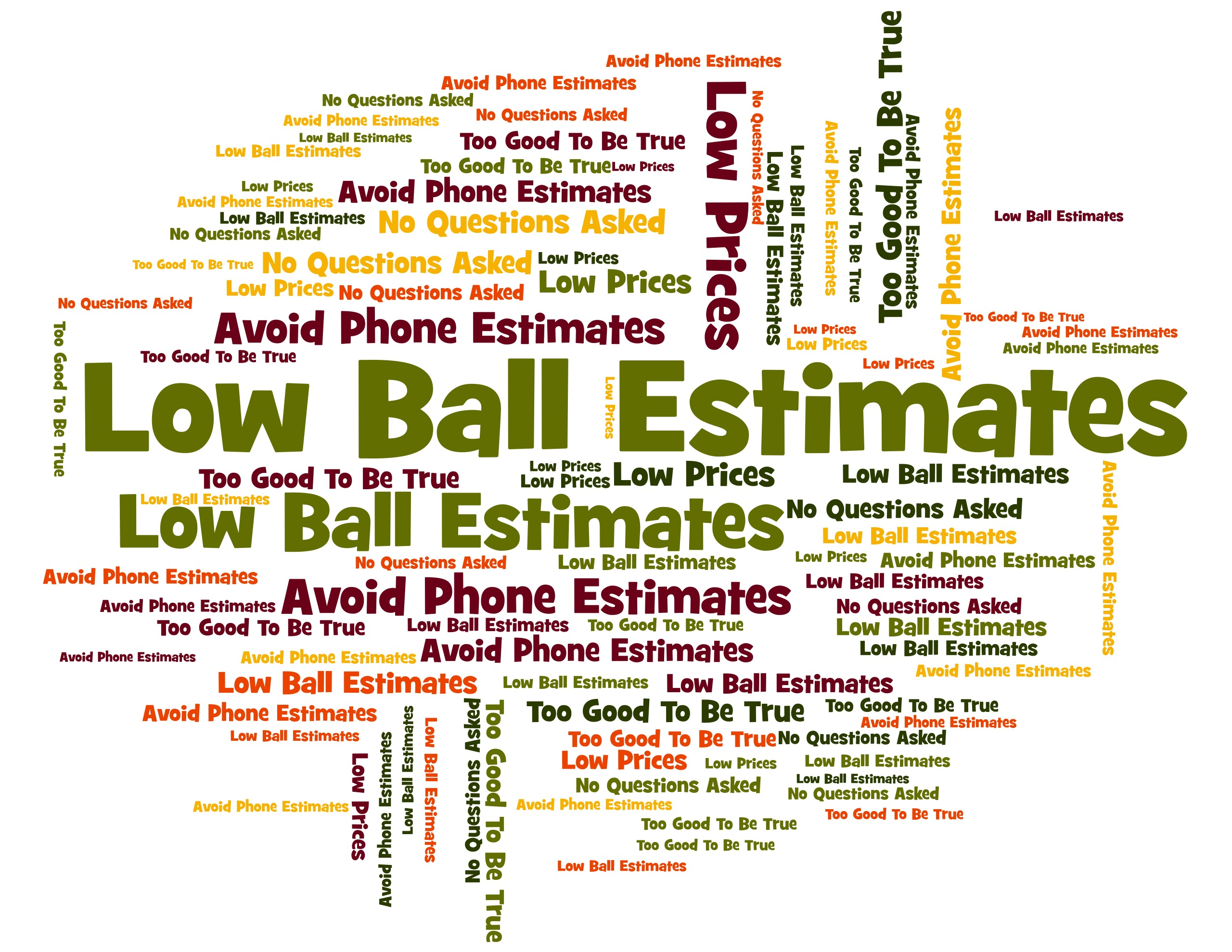 Avoid Low-Ball Estimates