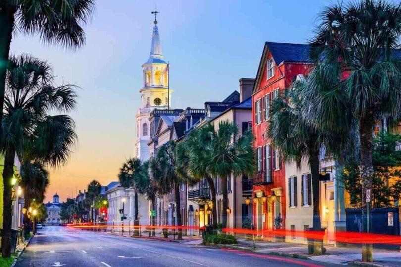 Charleston is the Most Romantic City