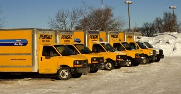Renting a Penske Truck