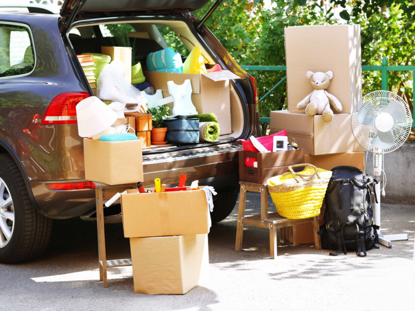 Pack Your Car For Moving