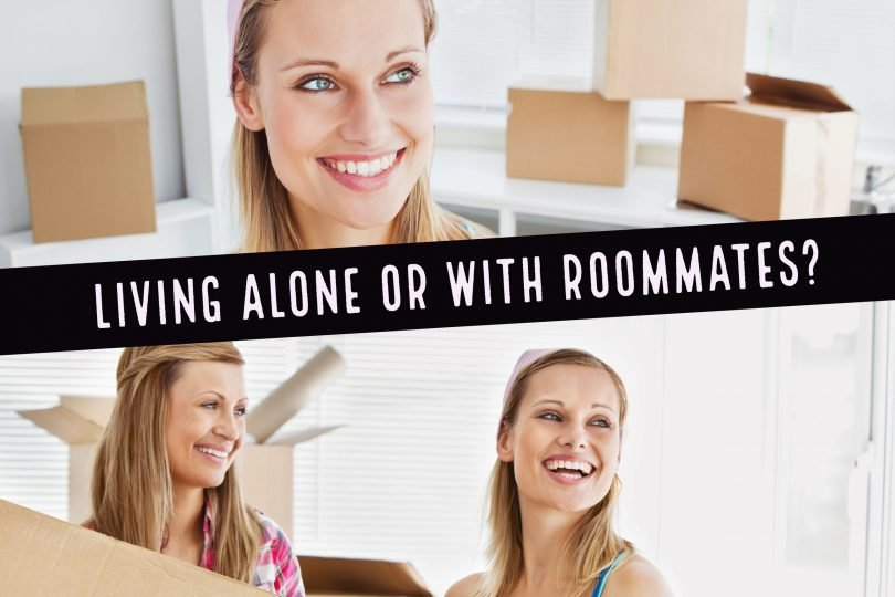 Living Alone or with roommates