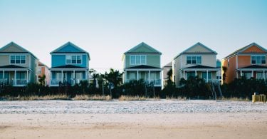 Salt water effect on houses