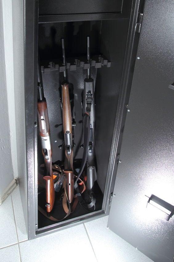 Moving a gun safe