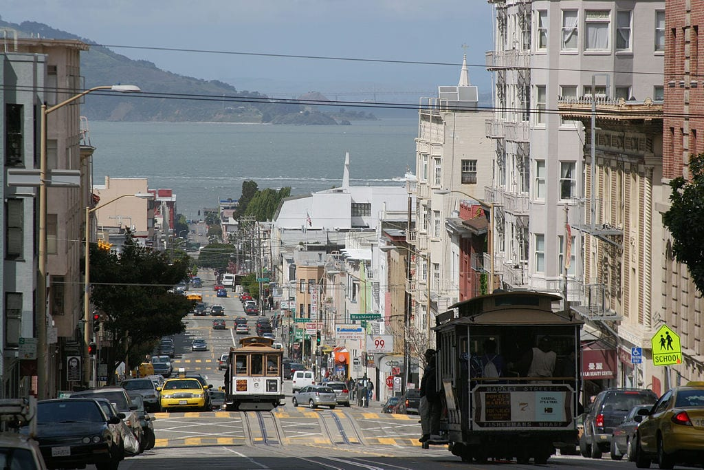 Nob Hill San Francisco Five up and coming neighborhoods in San Francisco
