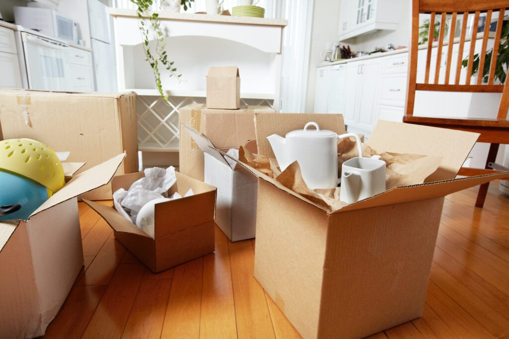 do moving companies pack your stuff for you?