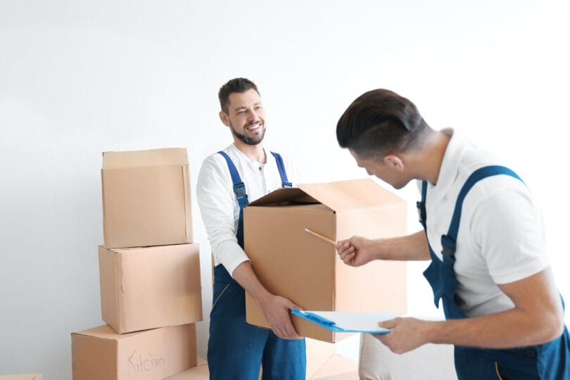What can a moving company move?